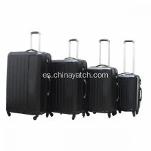 4pcs ABS Hard Shell Trolley Equipaje Set